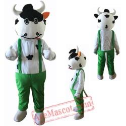 Cow Cattle Mascot Costume
