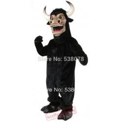 Black Power Bully Bull Mascot Costume