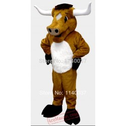 Bull Cattle Mascot Costume