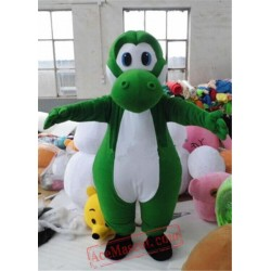 Super Mario Yoshi Dinosaur Mascot Costume