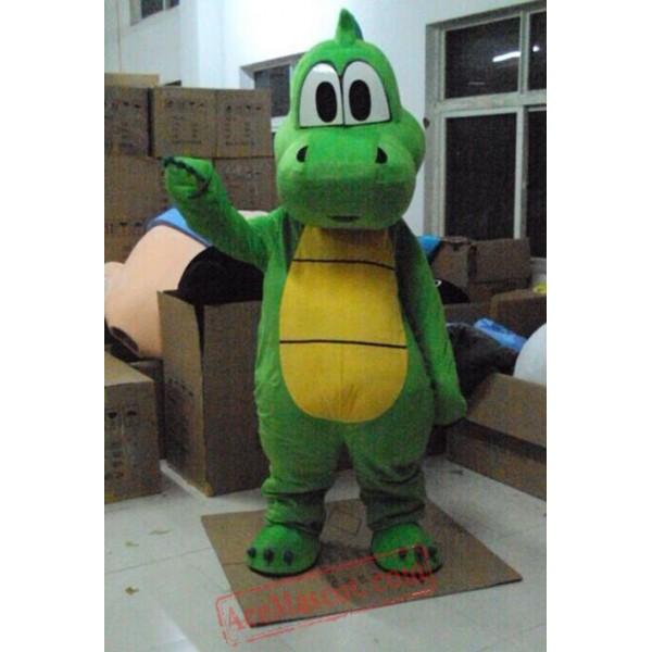 Yoshi Dinosaur Super Mario Mascot Costume