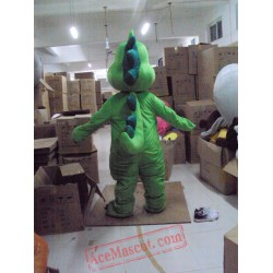 Green Dragon Dinosaur Mascot Costume