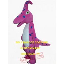 Pink Dino Dinosaur Mascot Costume