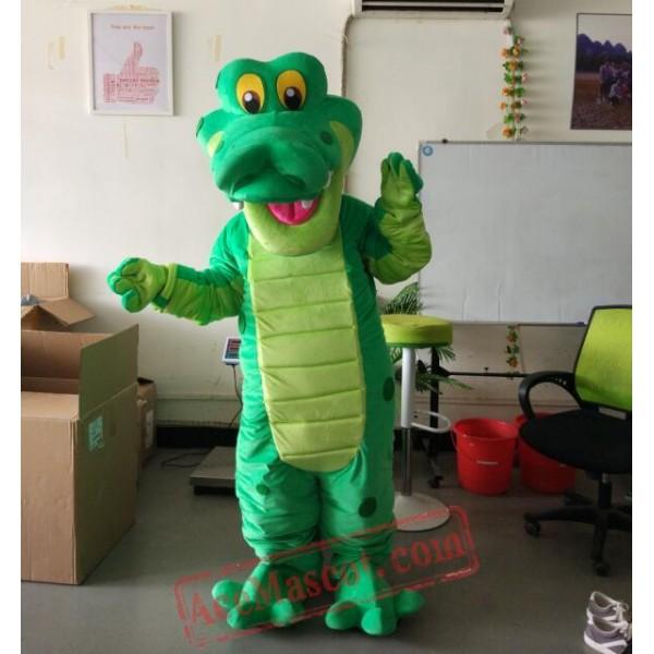 Dinosaur Crocodile Cartoon Character Mascot Costume