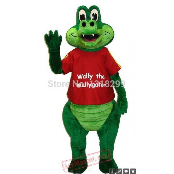 Gator Aligator Crocodile Croc Mascot Costume