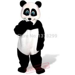 Bamboo Panda Mascot Costume