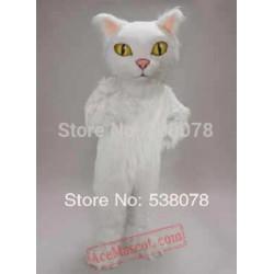 Persian Cat Mascot Costume Cartoon Character
