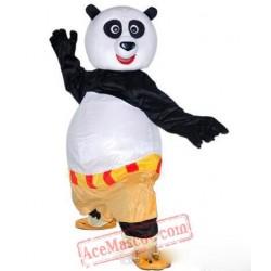Kung Fu Panda Cartoon Character Mascot Costume