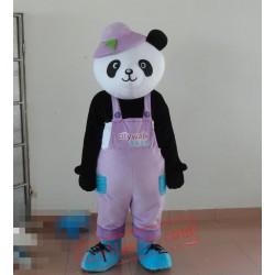 Black Giant Panda Mascot Costume