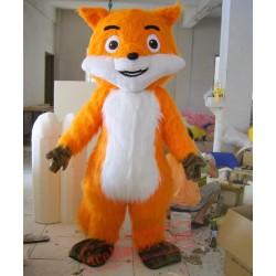 Helmet Orange Cat Mascot Costumes