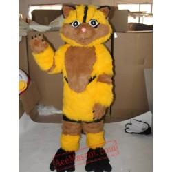 Furry Cat Mascot Costume for Adult