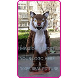 Wildcat Mascot Wild Cat Bobcat Costume