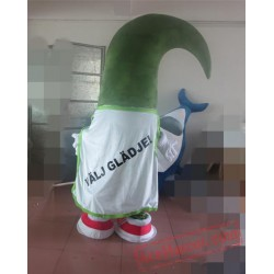 Green Plant Mascot Costume For Adult