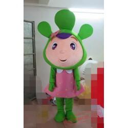 Green Leaf Plant Mascot Costume Animal Mascot Costume