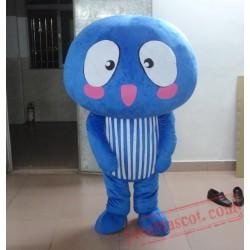 Blue Mushroom Mascot Costumes