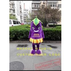 Eggplant Mascot Costume