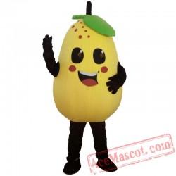 Pears Mascot Costume