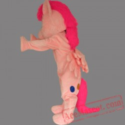 Pink My Little Pony Horse Mascot Costume