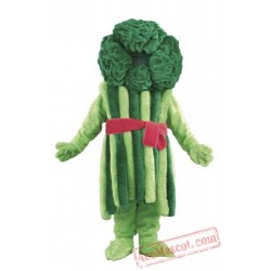 Broccoli Mascot Costume Vegetables
