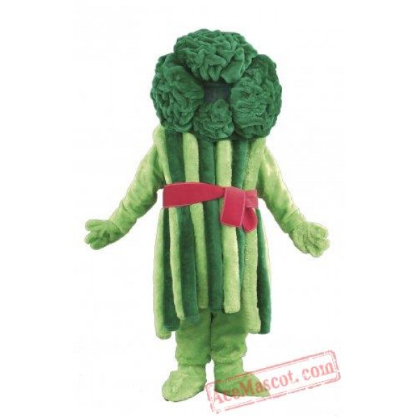 Broccoli Mascot Costume Vegetables