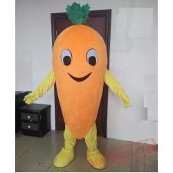Vegetables Carrot Mascot Costume