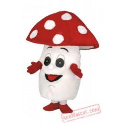 Mushroom Mascot Costume Vegetables