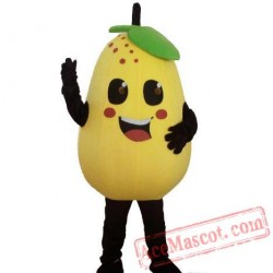 Pear Mascot Costume Fruits Costume