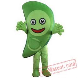Vegetables Green Peas Mascot Costume
