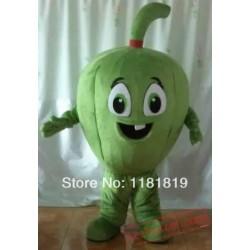 Vegetable Green Pepper Mascot Costume