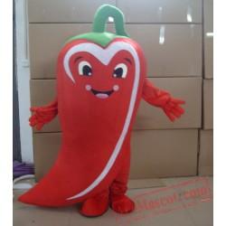High Quality Chili Mascot Costume