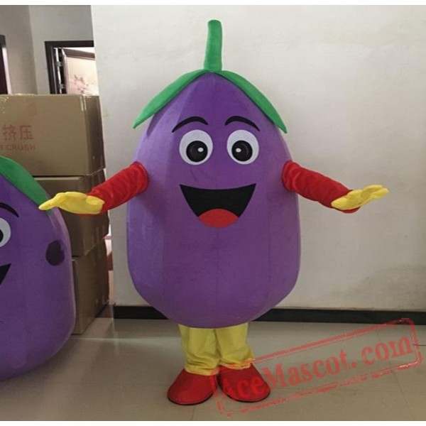 Eggplant Mascot Costume Vegetables