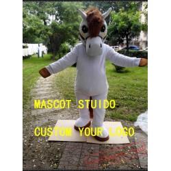 Horse Mascot Costume Stallion
