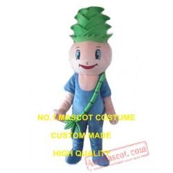 Tender Bamboo Shoots Mascot Costume