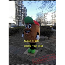 Potato Mascot Costume Bean Vegetable