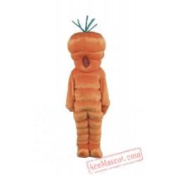 Giant Carrot Mascot Costume Vegetables Cartoon