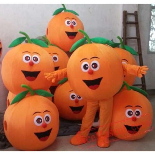 Fruit Oranges Mascot Costume Fruit Cartoon