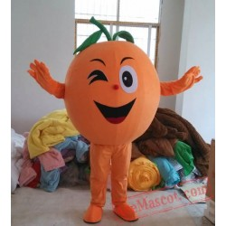 Orange Fruit Mascot Costume