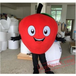 Fruit Apple Cartoon Mascot Costume