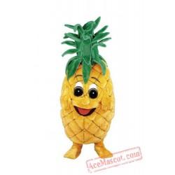 Pineapple Mascot Costume Fruit Cartoon