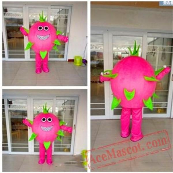 Dragon Fruit Mascot Costume