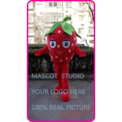Strawberry Fruit Mascot Costume