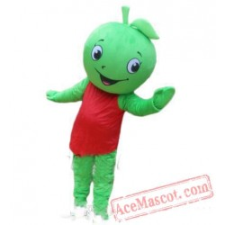 Little Green Apple Mascot Costume
