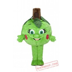 Artichoke Mascot Costume Fruit Cartoon