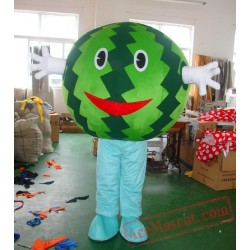 Watermelon Mascot Costume Fruit Cartoon
