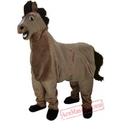 Two People Horse Mascot Costume
