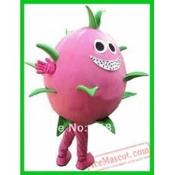 Dragon Fruit Pitaya Mascot Costume
