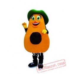 Fruit Avocado Mascot Costume