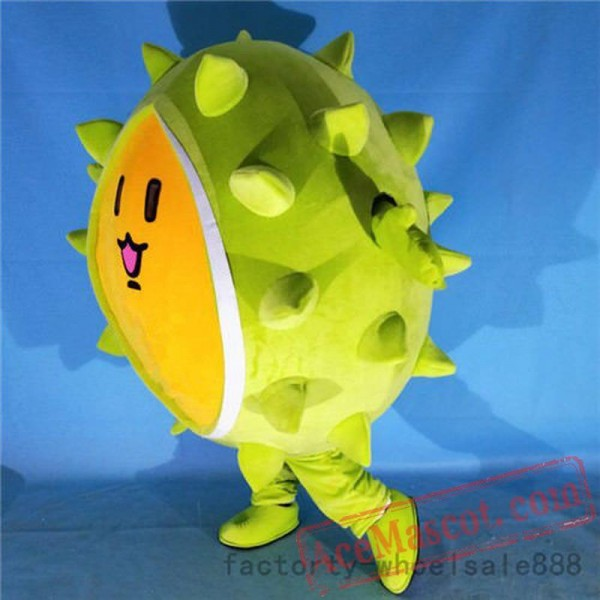 Fruit Durian Mascot Costume Suits Cosplay Party