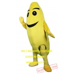 Realistic Banana Mascot Costume