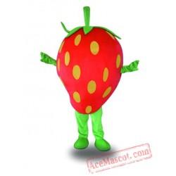 Professional Strawberry Fruit Mascot Costume